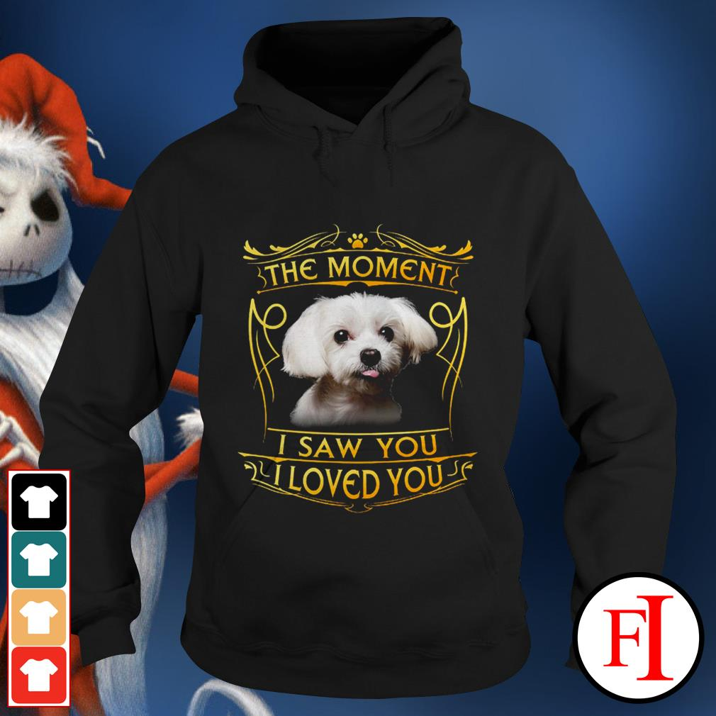 Official Terrier Havanese the moment I saw you I loved you IF Hoodie