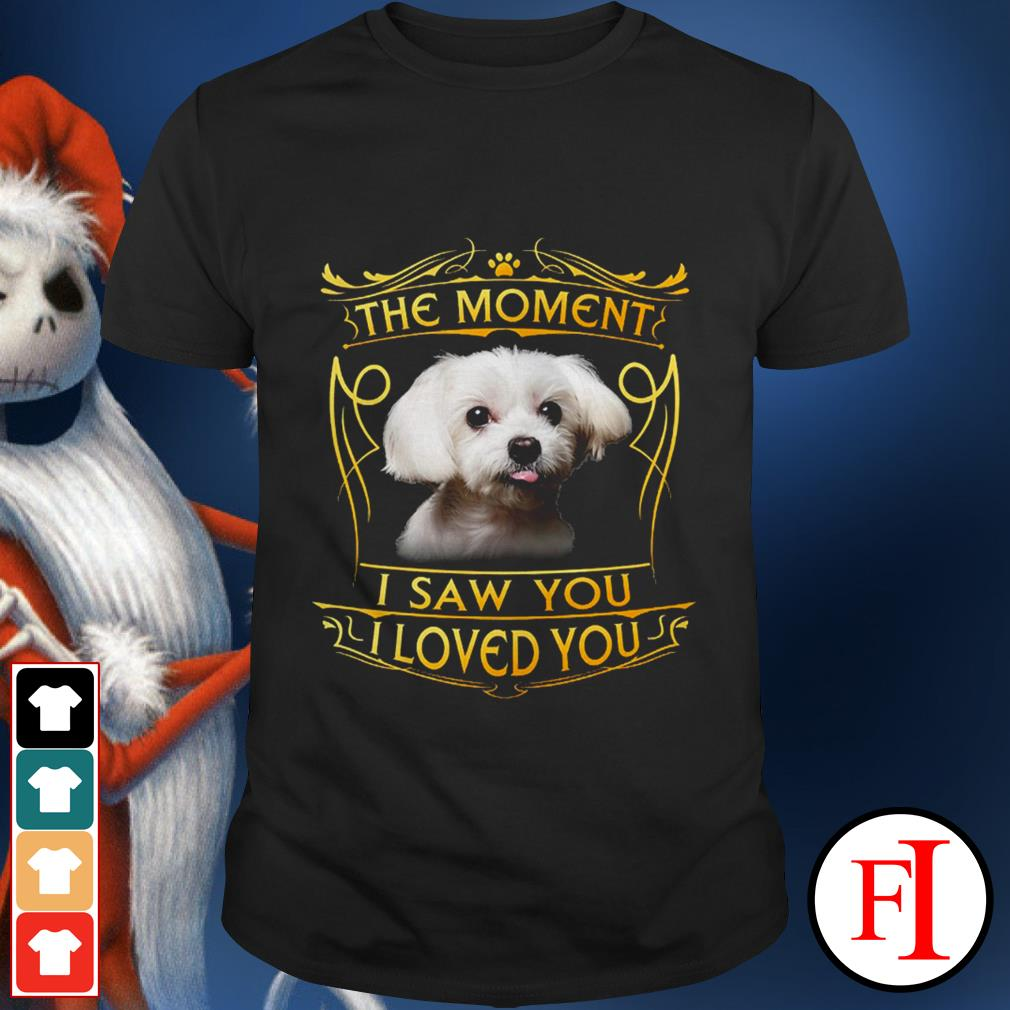 Official Terrier Havanese the moment I saw you I loved you IF shirt