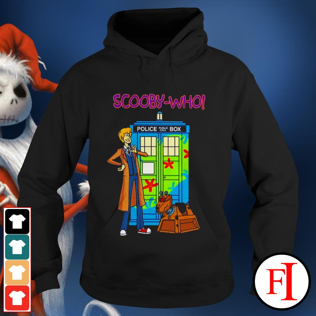 Police public call box Scooby-Who best Hoodie