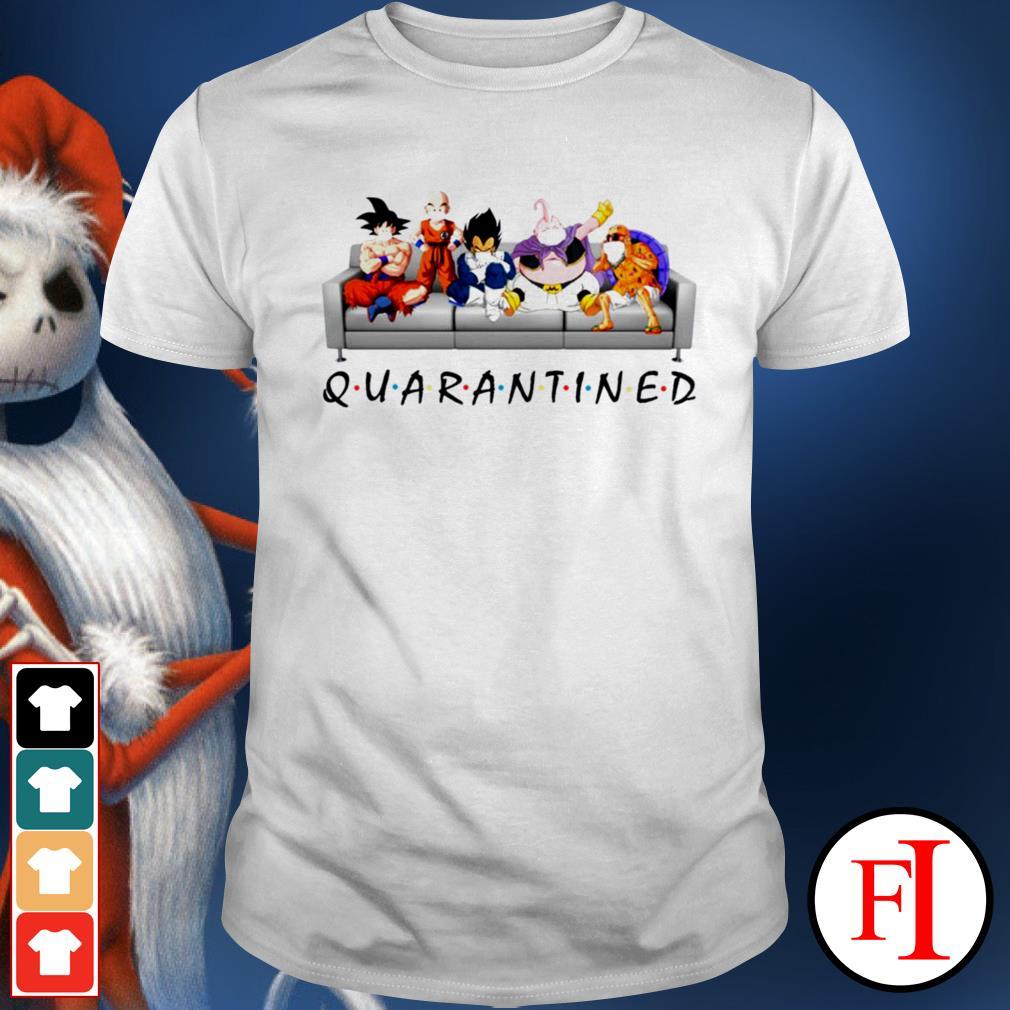 Quarantined Dragon Ball shirt