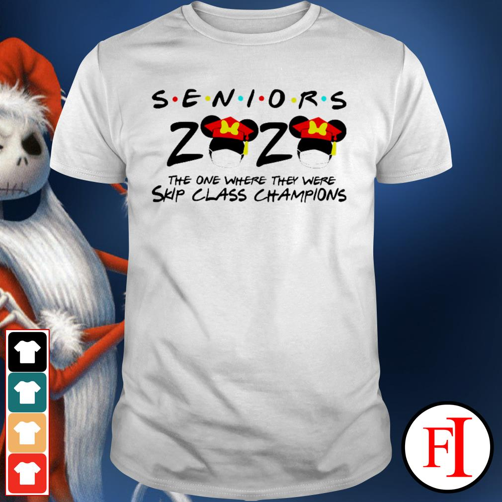 Seniors 2020 the one where they were skip class champions Minnie Mouse shirt