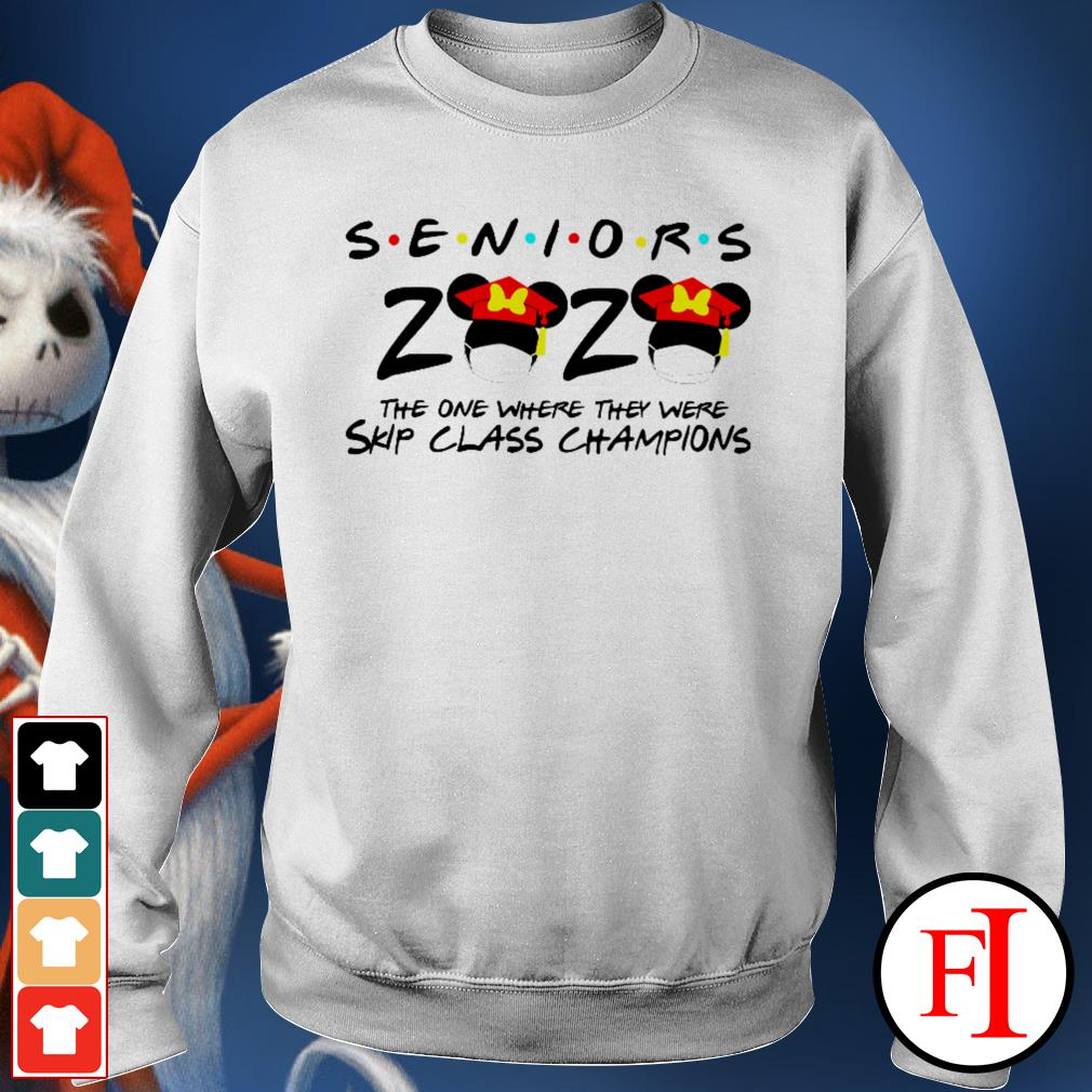 Seniors 2020 the one where they were skip class champions Minnie Mouse Sweater