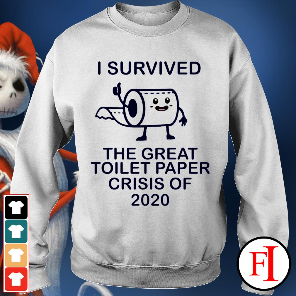 I survived the great toilet paper crisis of 2020 White IF Sweater
