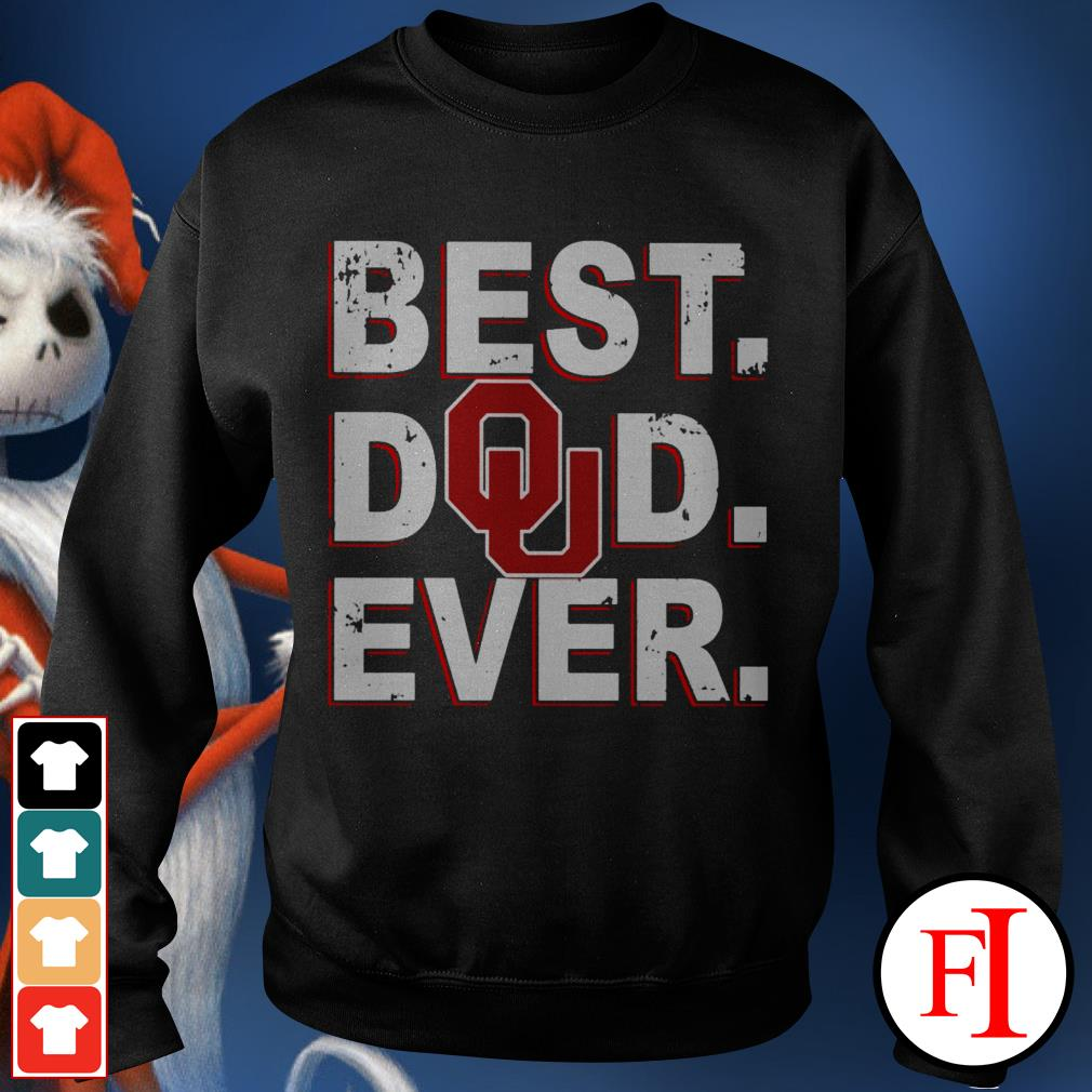 Best Dad ever Oklahoma Sooners Sweater