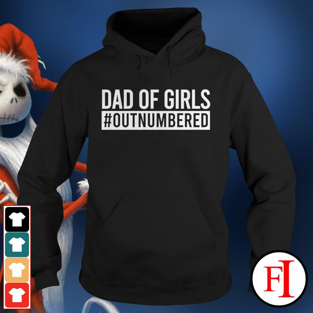 Black Dad of girls outnumbered Hoodie