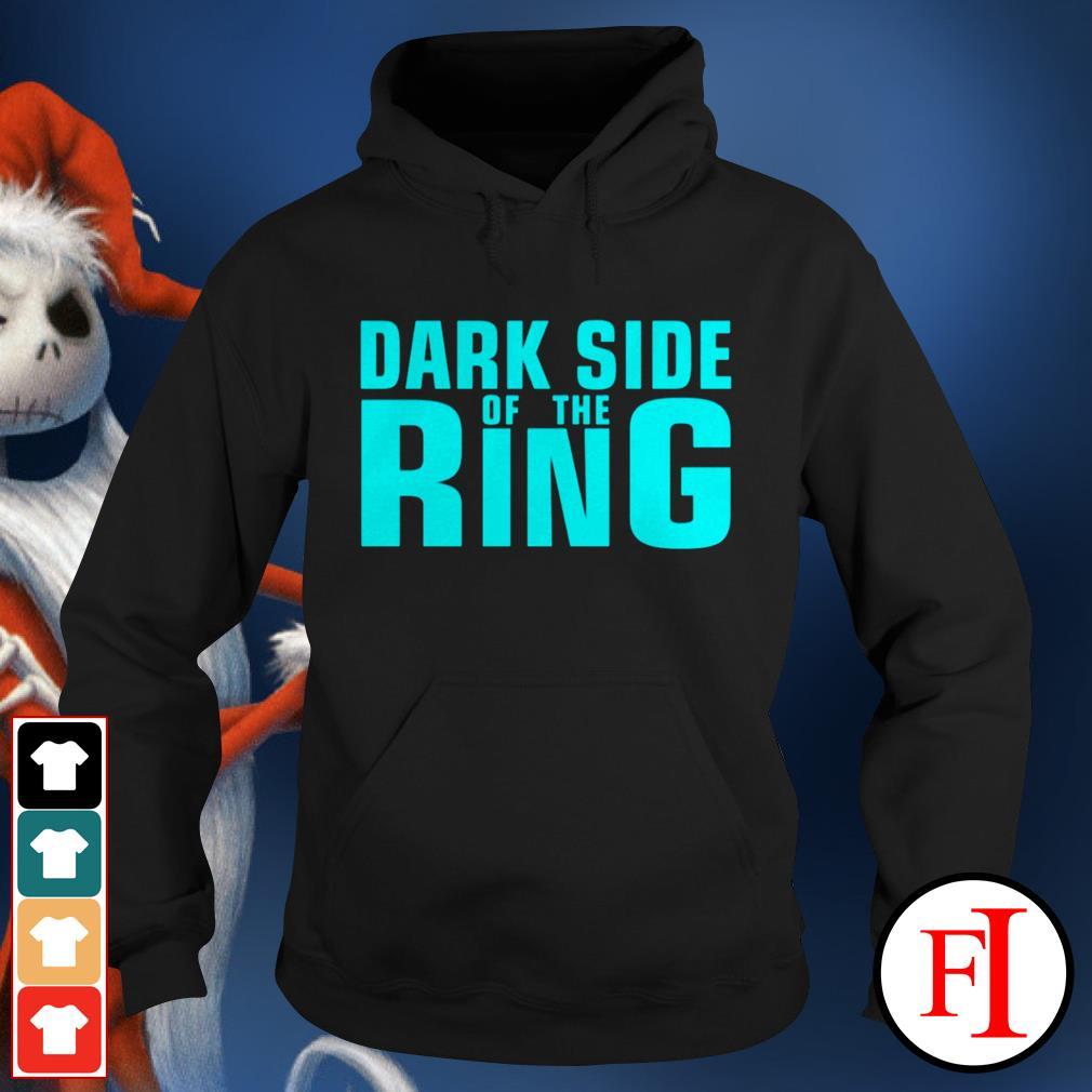 Black Dark side of the Ring Hoodie