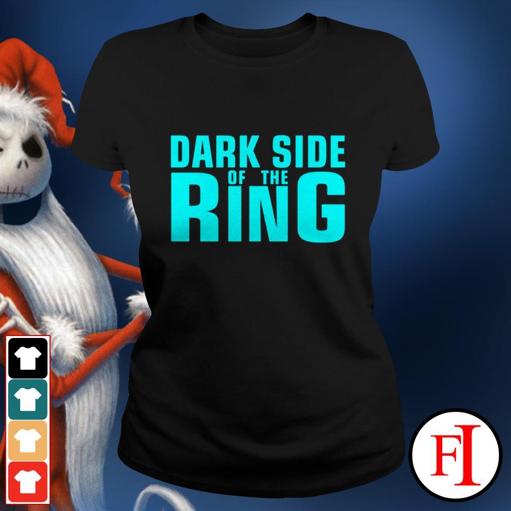 Black Dark side of the Ring Ladies tee