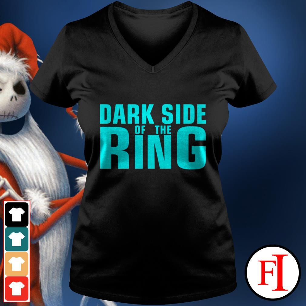 Black Dark side of the Ring V-neck t-shirt