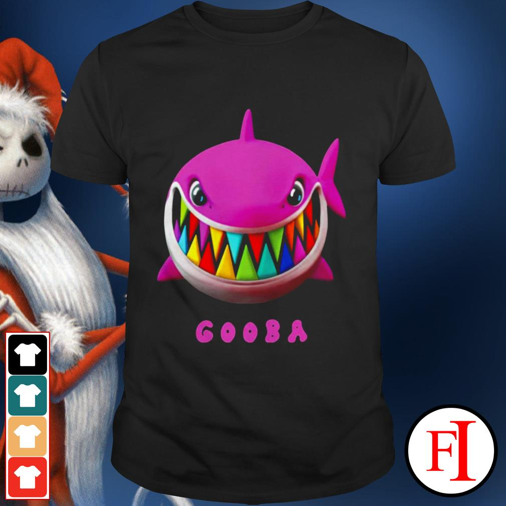 Love white Gooba Shark shirt