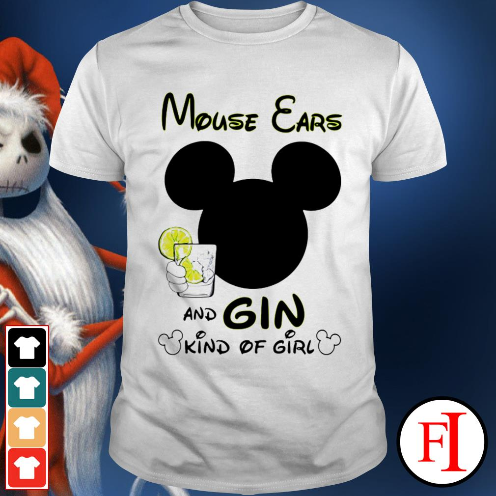 Official Mouse ears and Gin kind of girl shirt