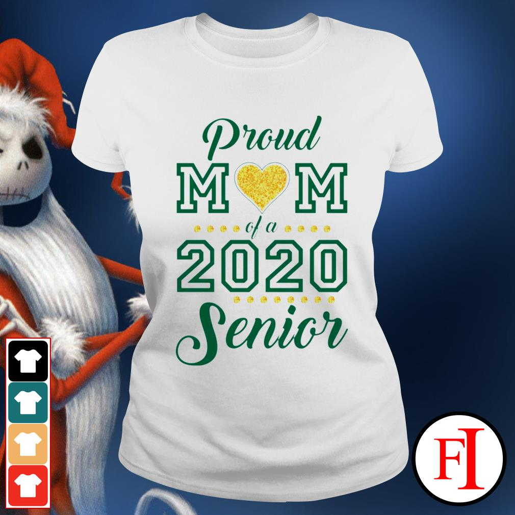 Proud Mom love of 2020 Senior Ladies tee