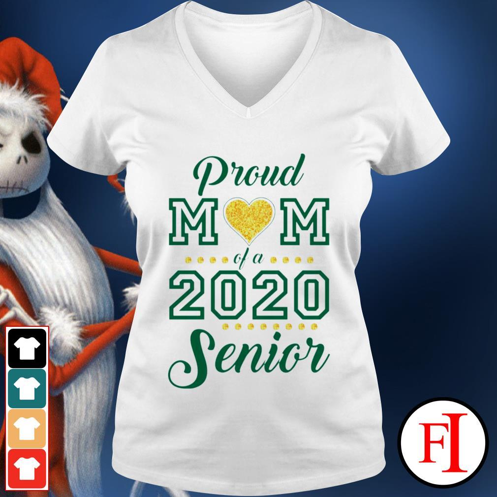 Proud Mom love of 2020 Senior V-neck t-shirt