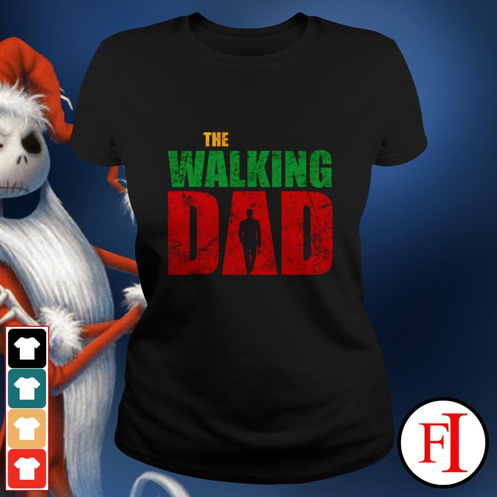 Love The walking dad black Ladies tee