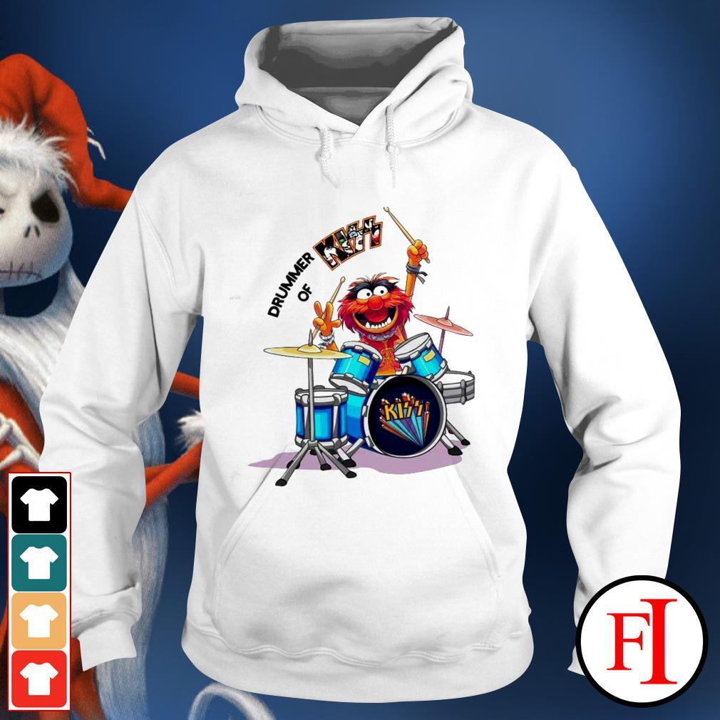 Muppet Drummer of Kiss best white Hoodie