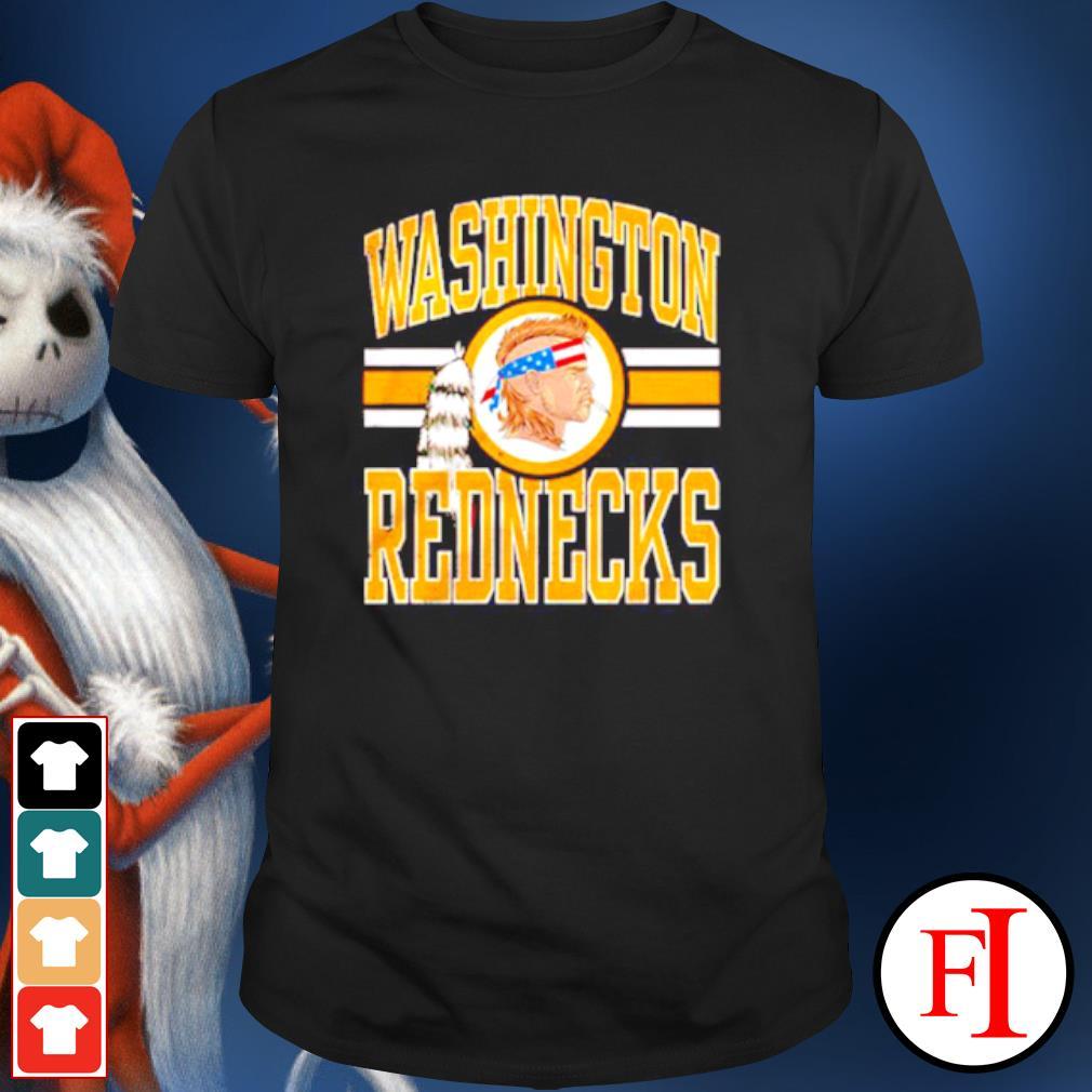 Washington Rednecks change shirt