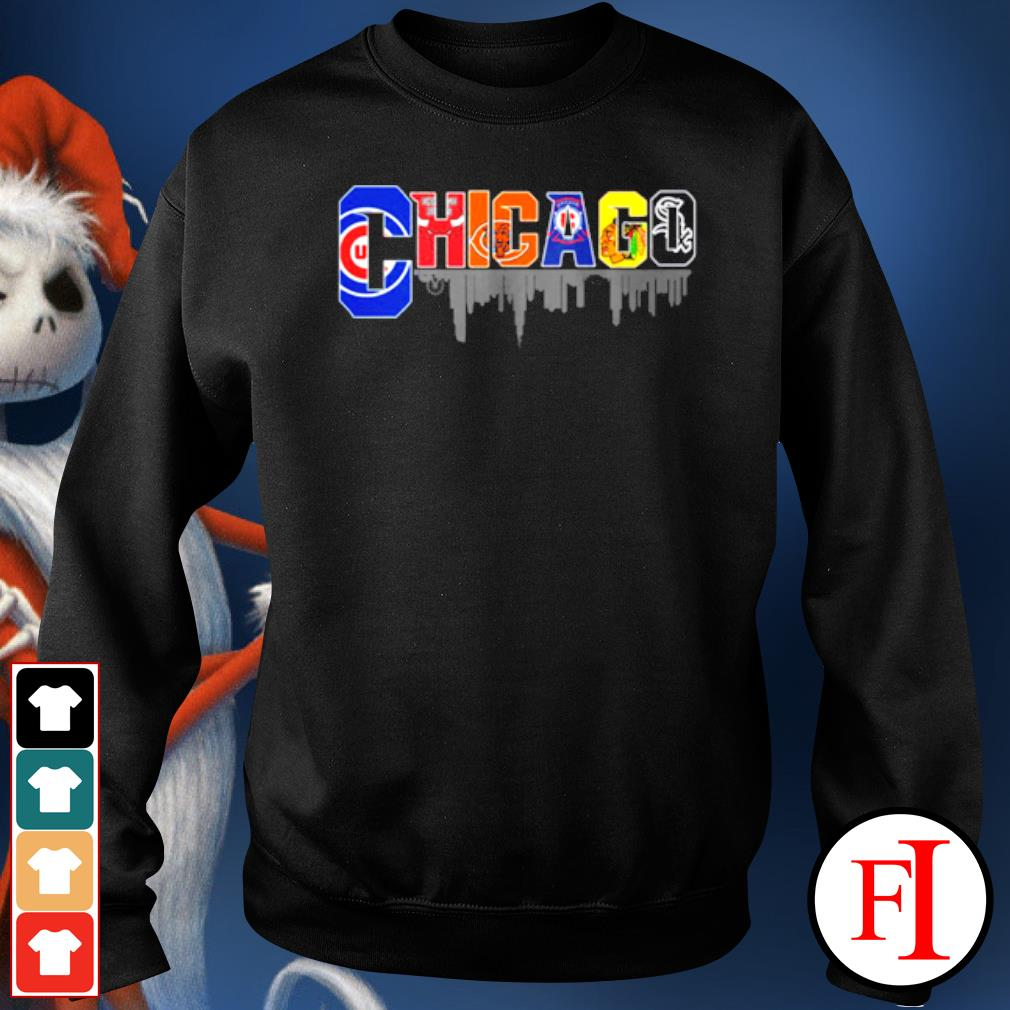Chicago Cubs Chicago Bulls Chicago Bears Chicago Fire Soccer s sweater