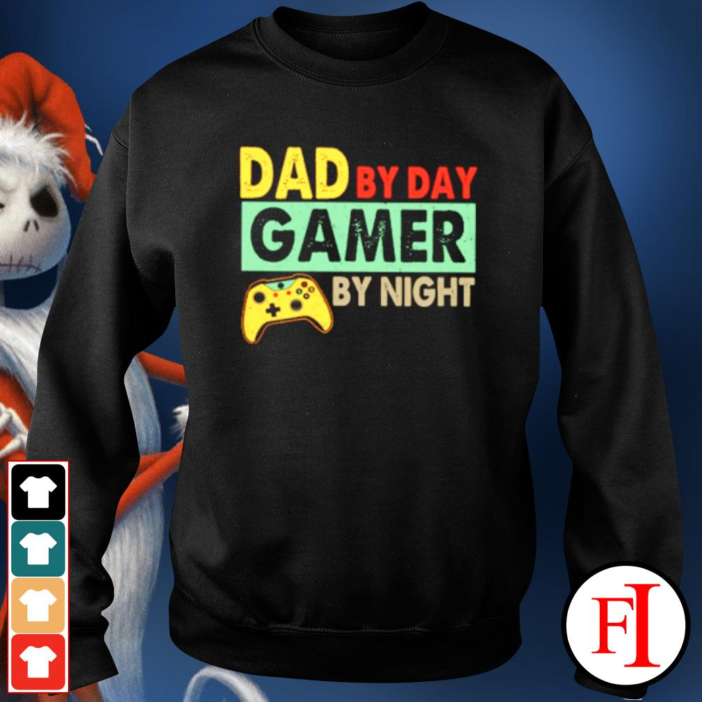 Dad by day Gamer by night s sweater