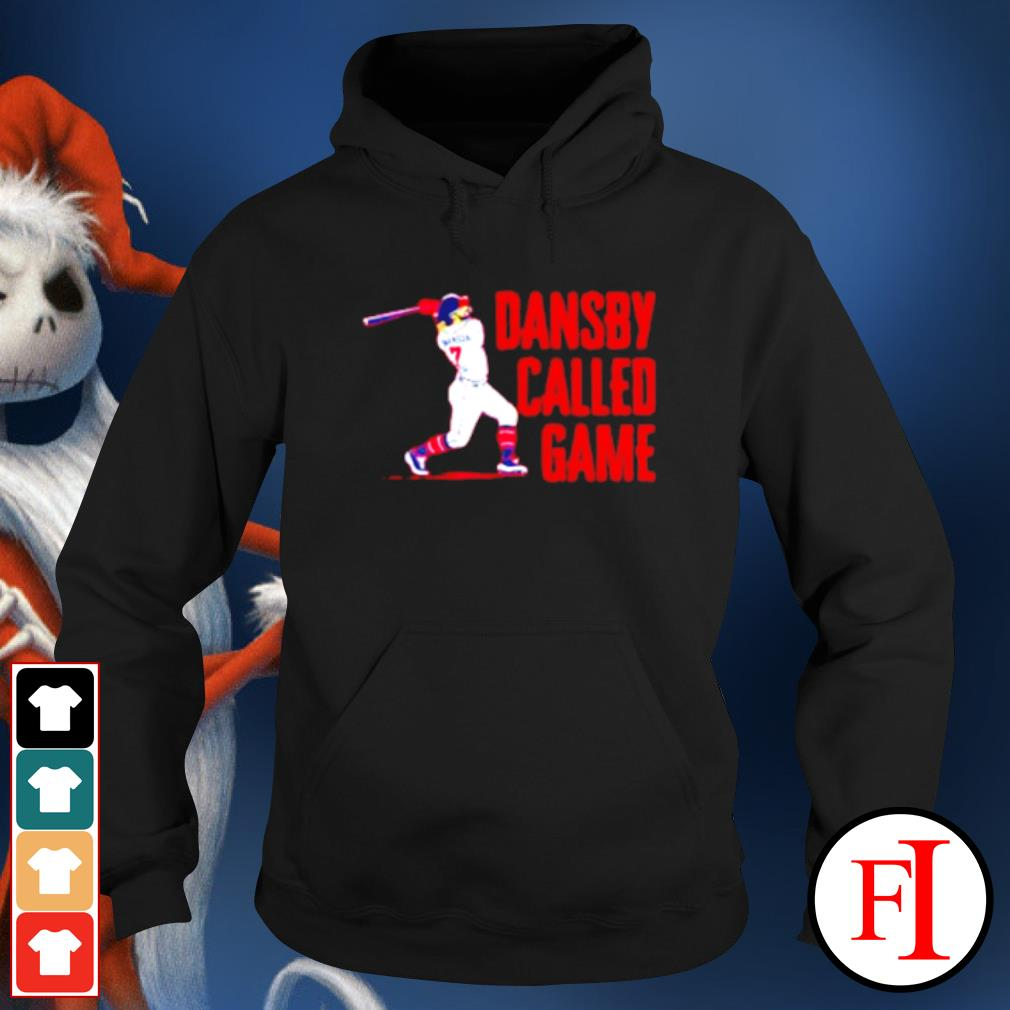 Dansby called game s hoodie