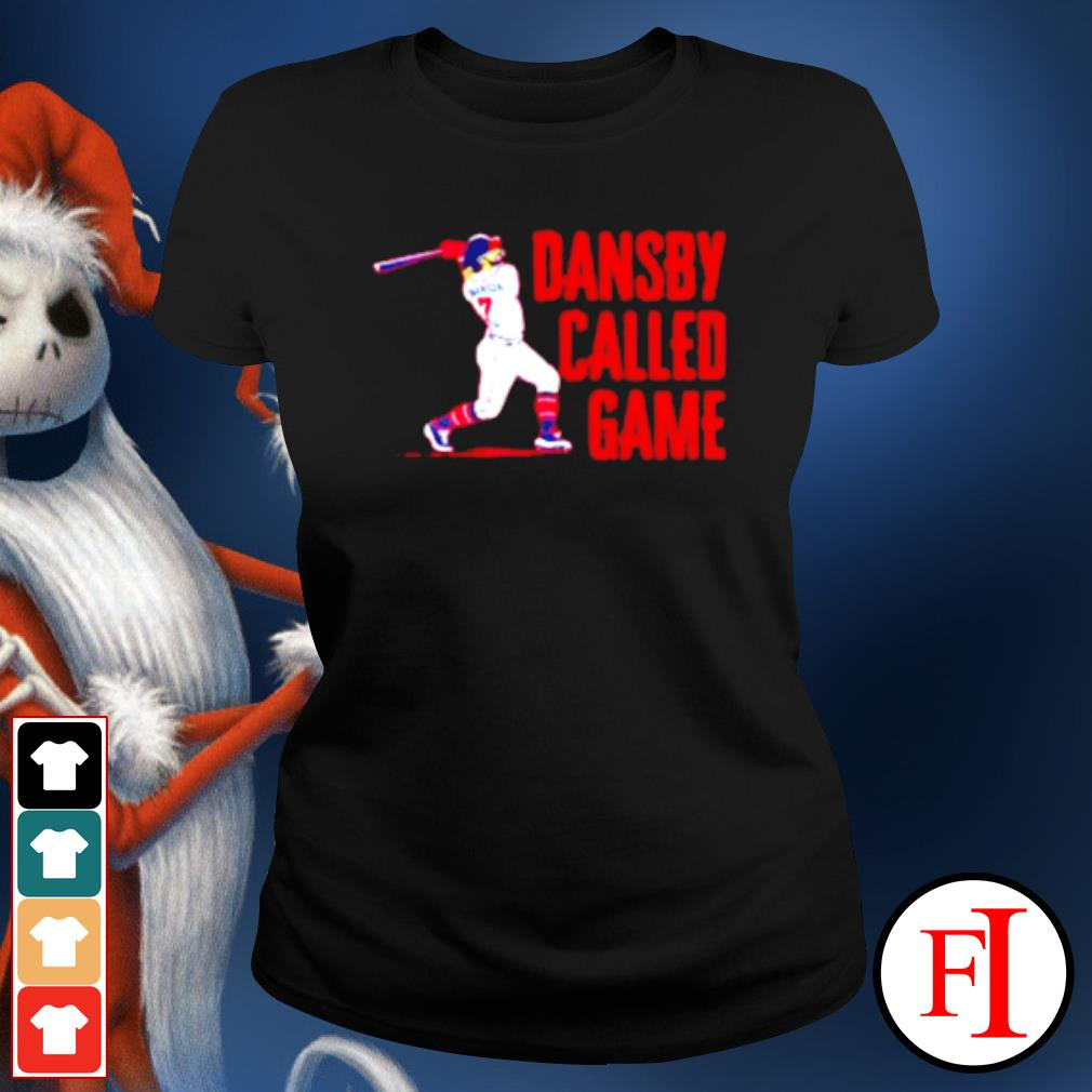 Dansby called game s ladies-tee