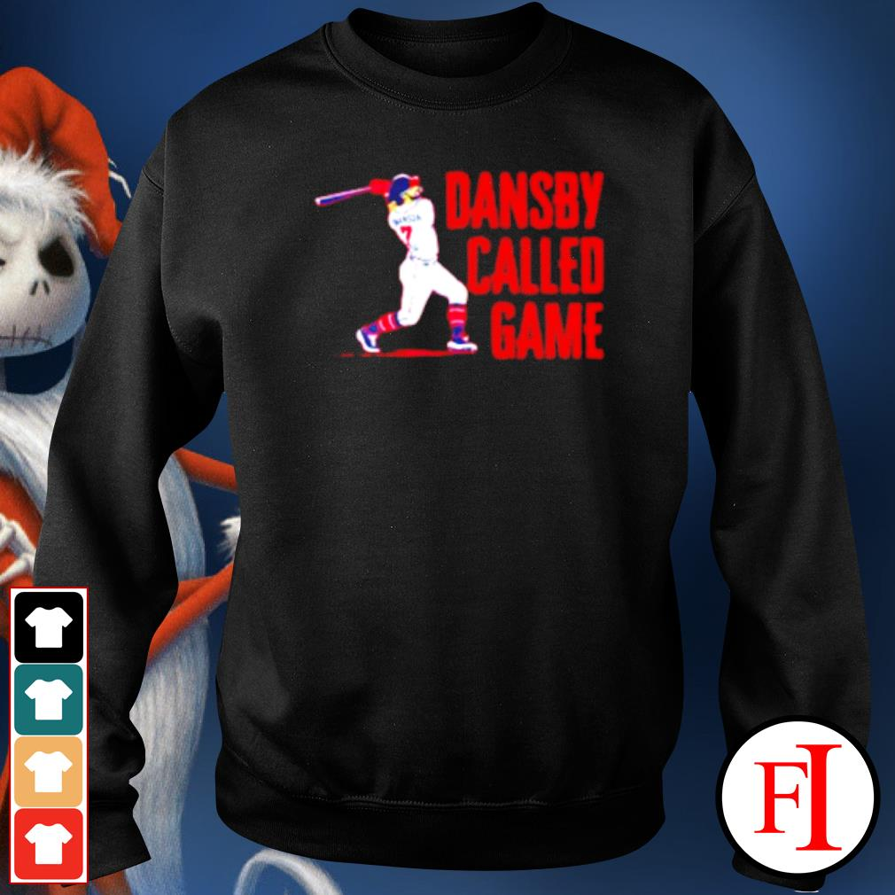 Dansby called game s sweater