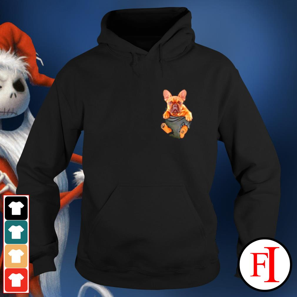 French Bulldog in Pocket s hoodie