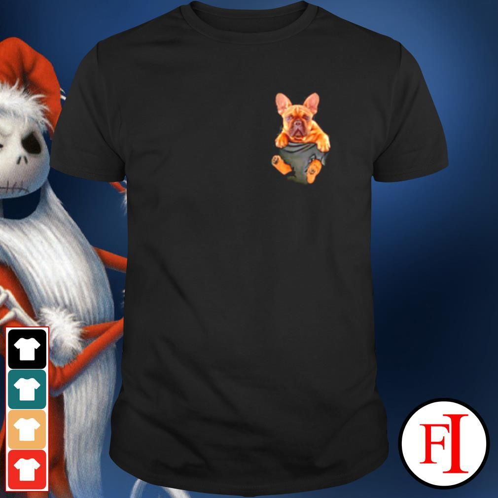 French Bulldog in Pocket shirt