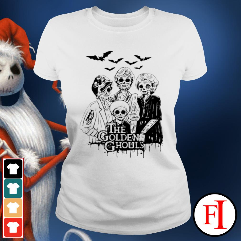 Halloween The Golden Ghouls s ladies-tee