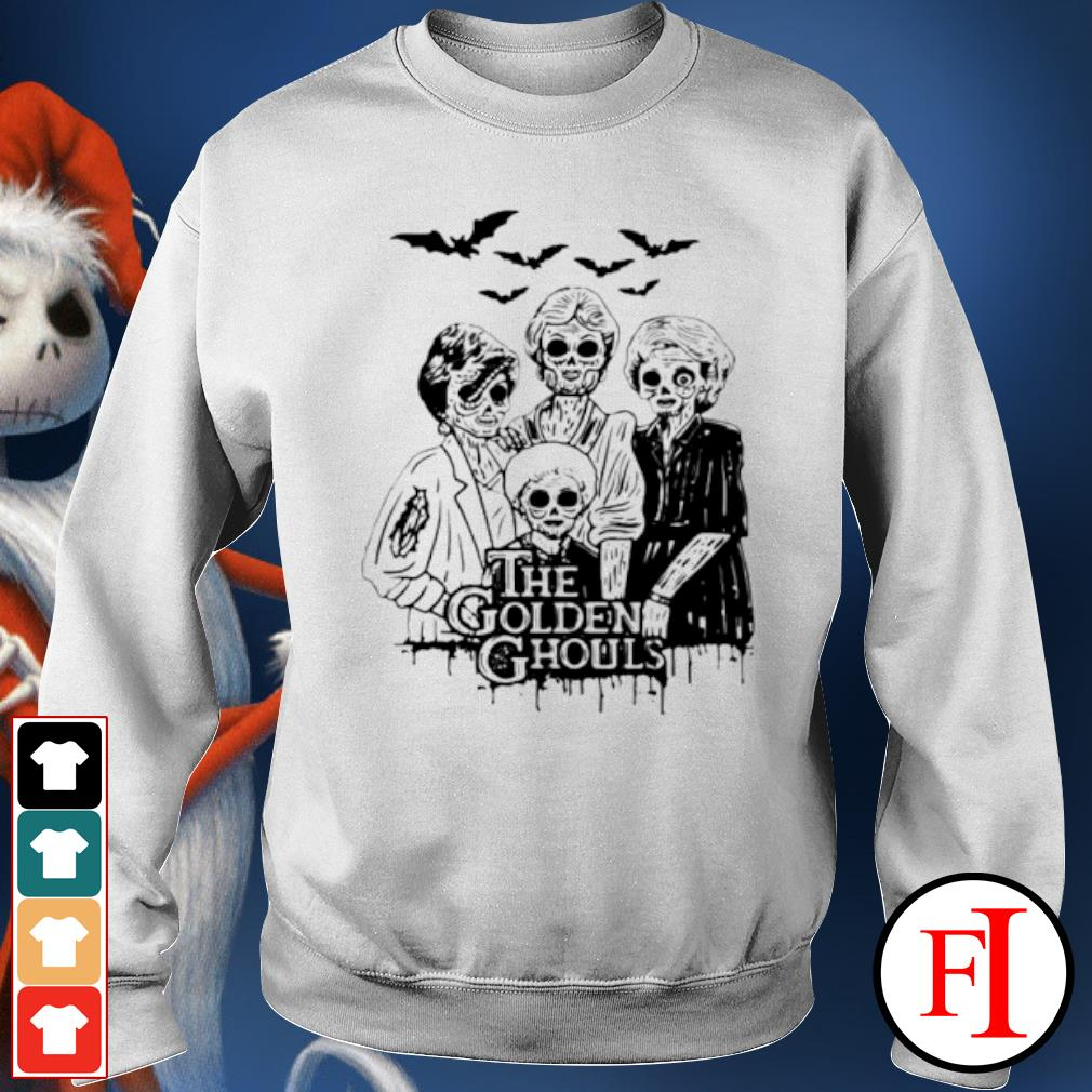 Halloween The Golden Ghouls s sweater