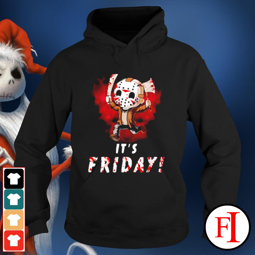 Jason Voorhees chibi It's Friday Halloween s hoodie