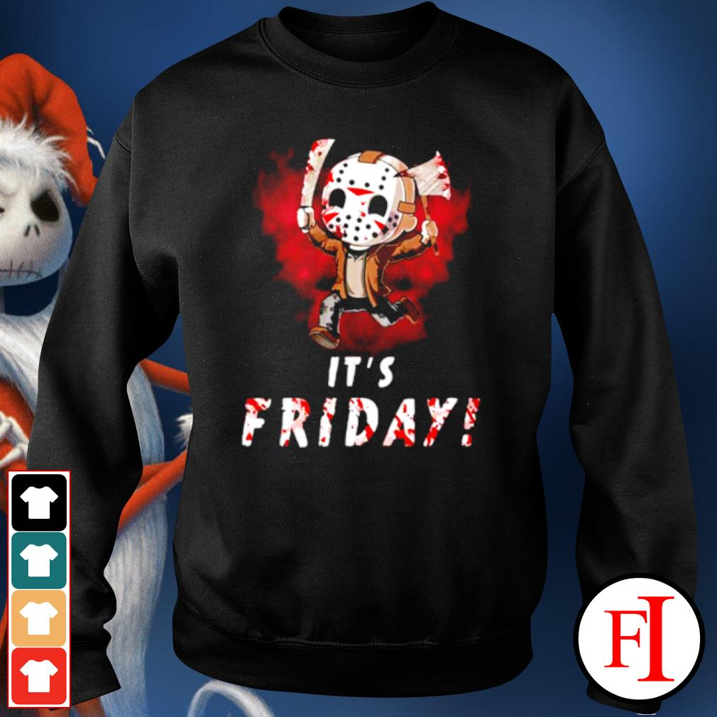 Jason Voorhees chibi It's Friday Halloween s sweater