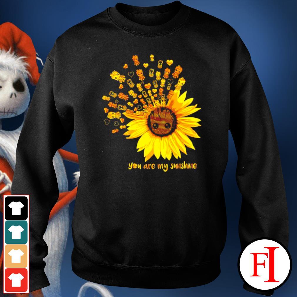 Sunflower Baby Groot you are my sunshine s sweater