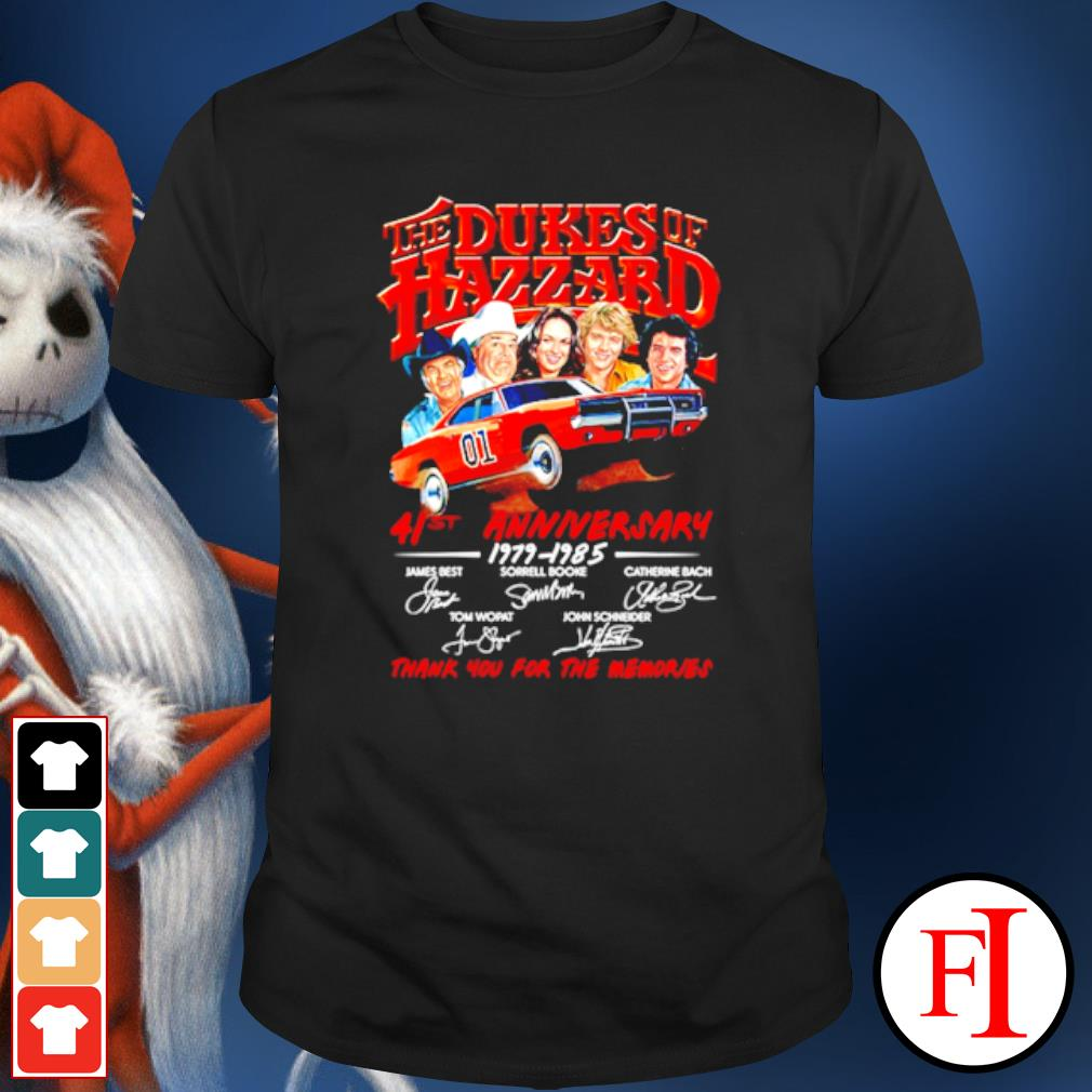 The Dukes of hazzard 41st anniversary 1979 1985 thank you for the memories shirt