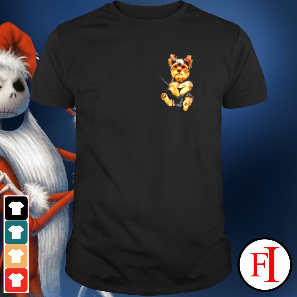 Yorkshire Terrier in Pocket shirt