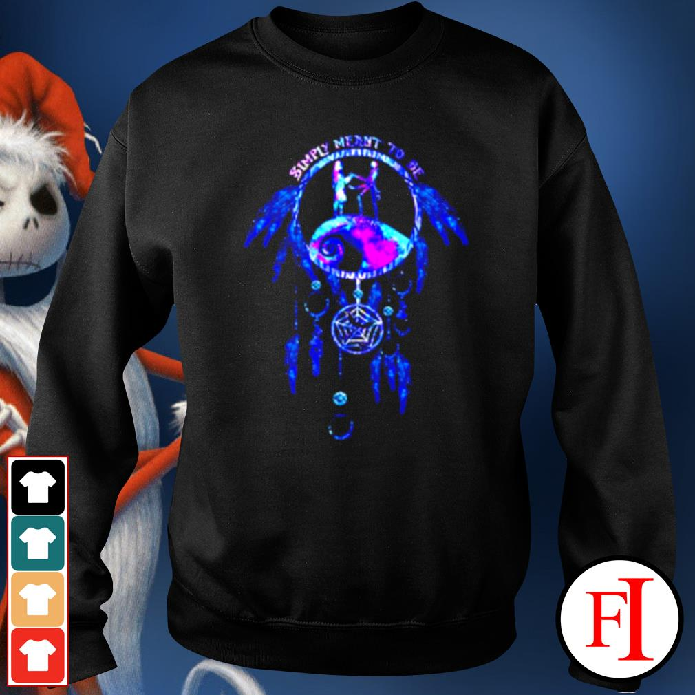 Jack Skeleton and Sally simply meant to be dream catcher s sweater