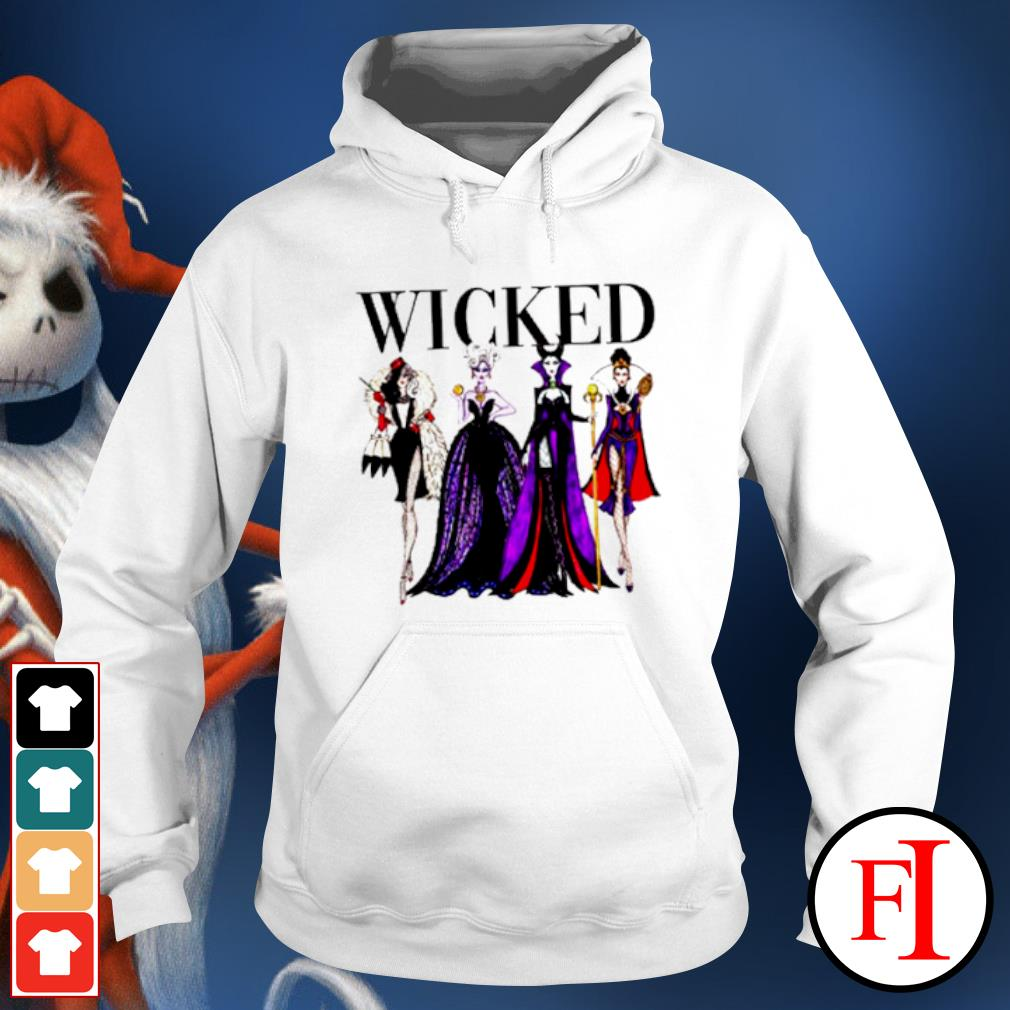 Wicked Disney Maleficent Evil Queen Ursula Cruella de Vil s hoodie