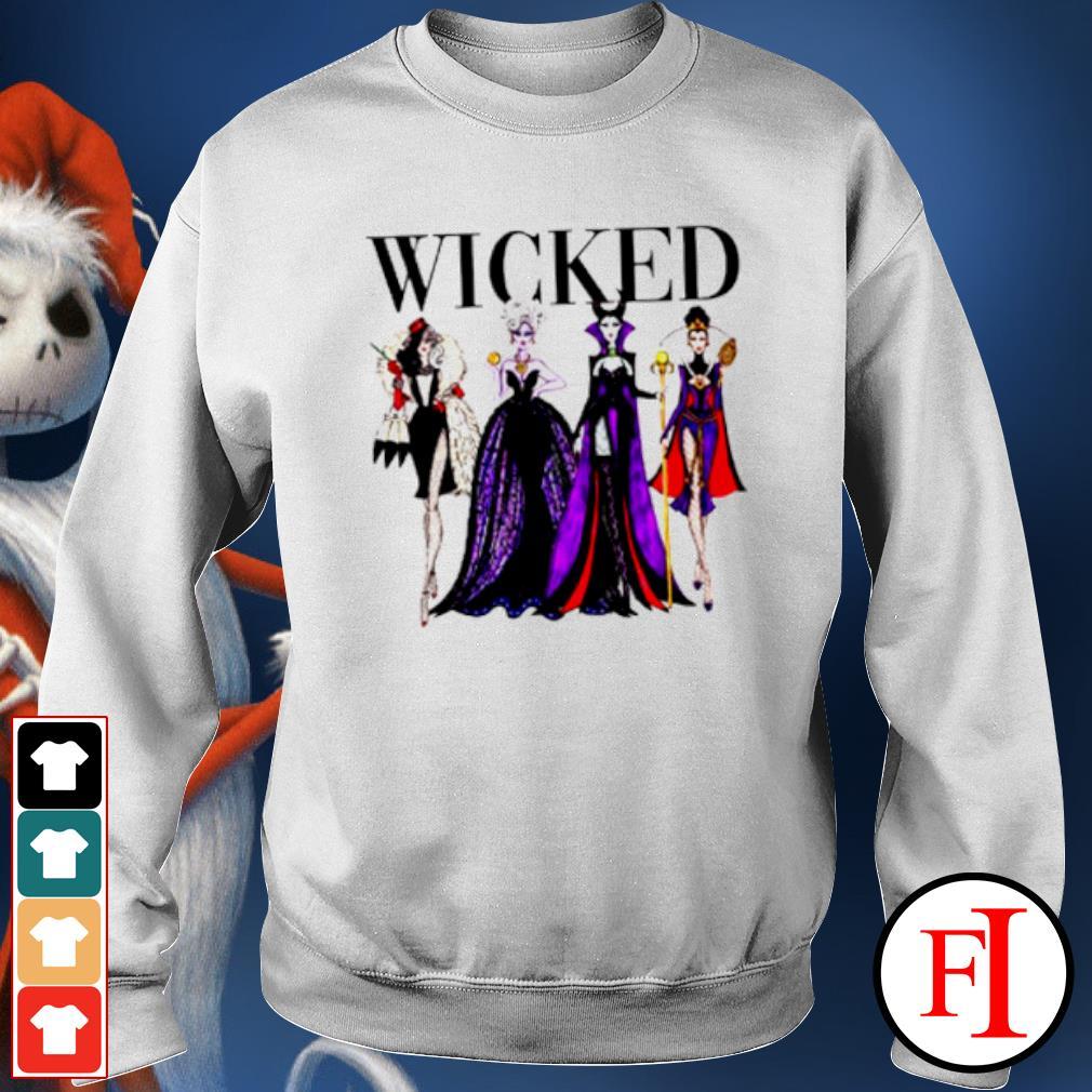 Wicked Disney Maleficent Evil Queen Ursula Cruella de Vil s sweater