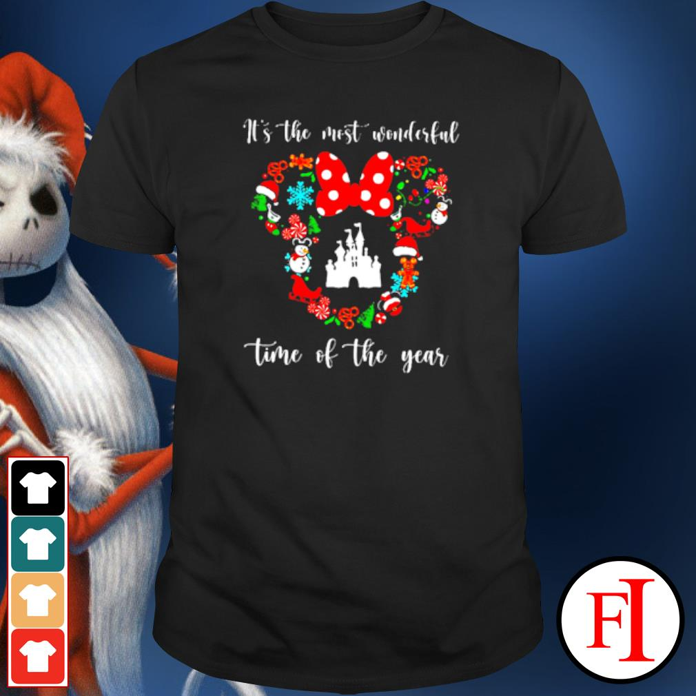 Disney Mickey it's the most wonderful time of the year Christmas shirt