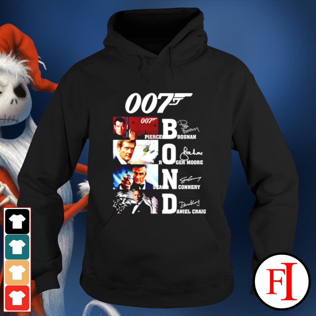 007 James Bond Signature s hoodie