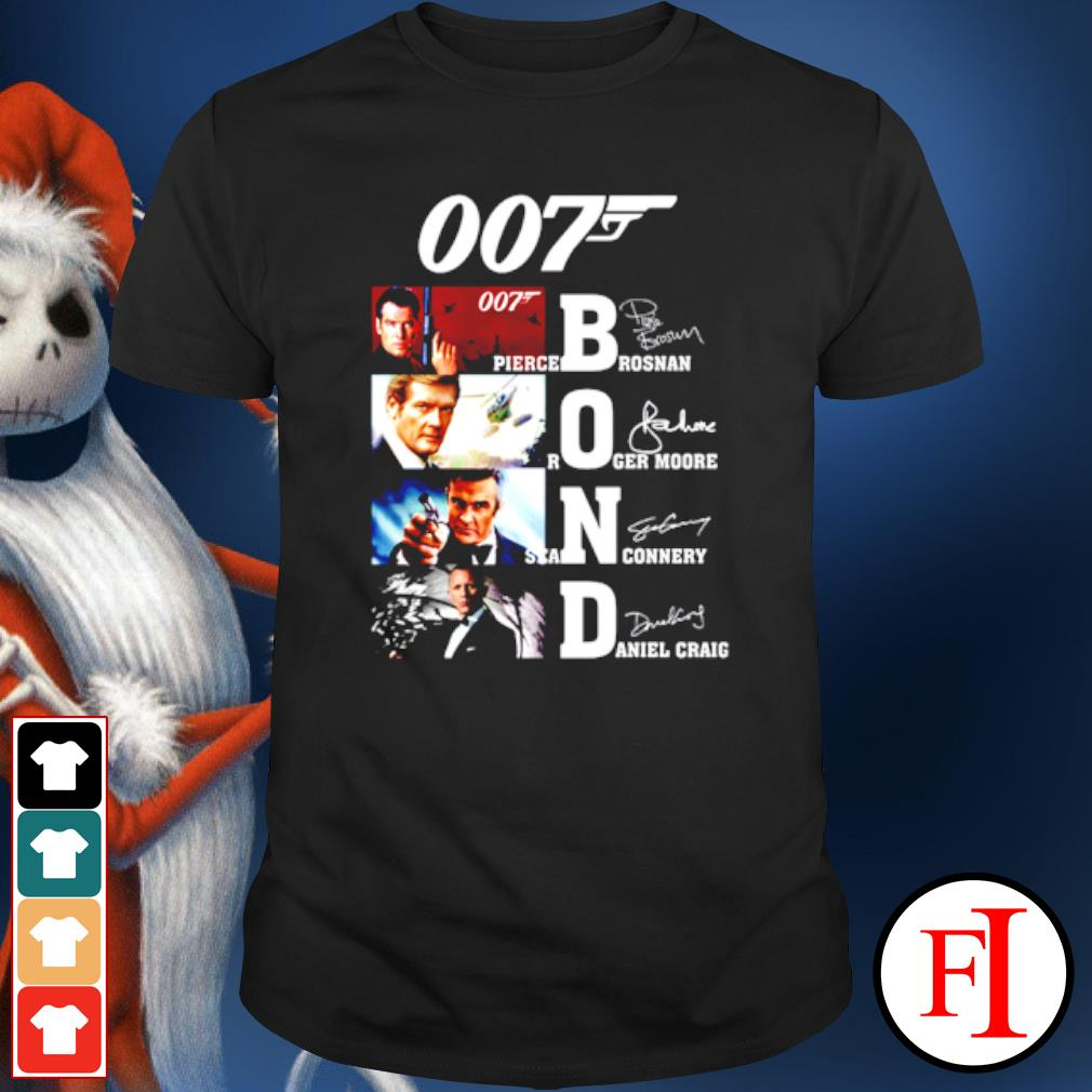 007 James Bond Signature shirt