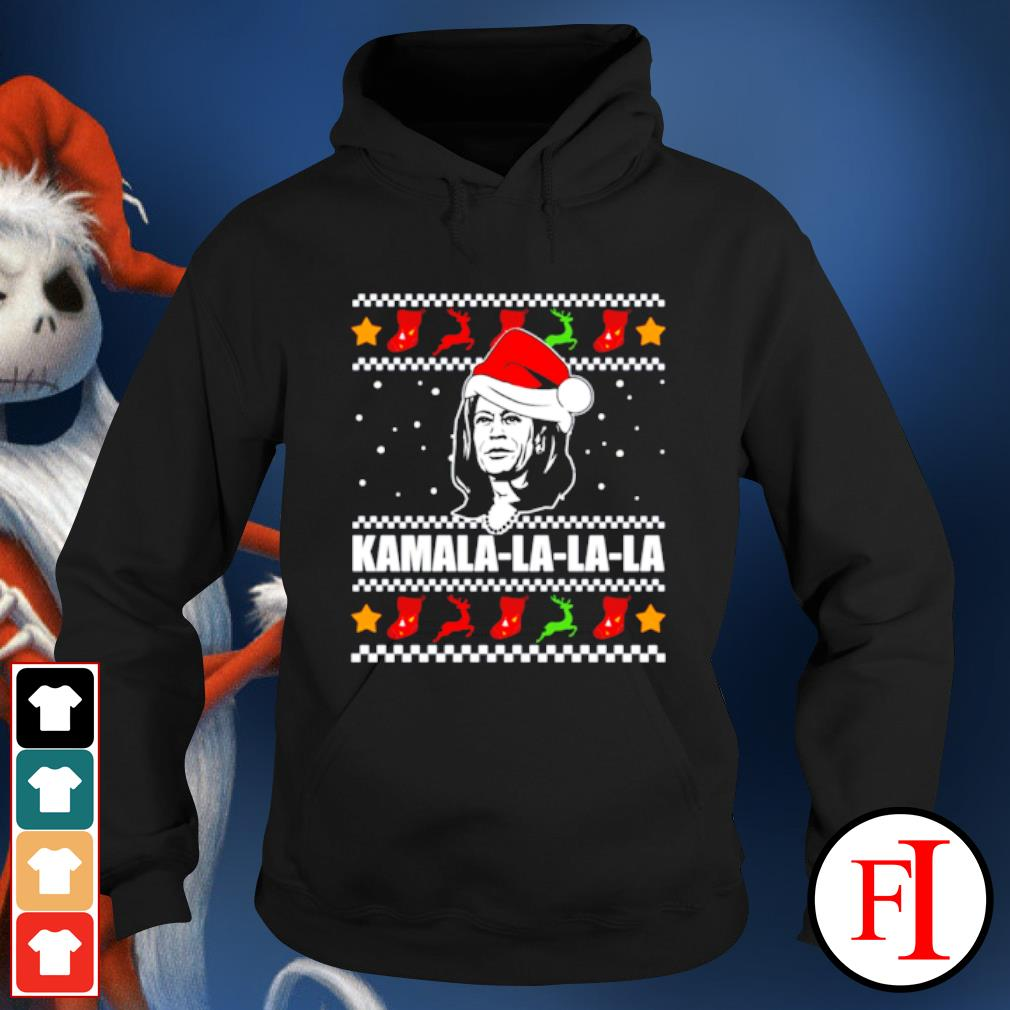 Kamala Harris la la la Christmas ugly s hoodie