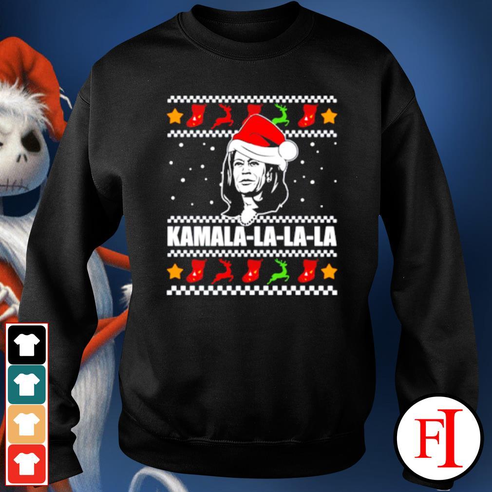 Kamala Harris la la la Christmas ugly s sweater