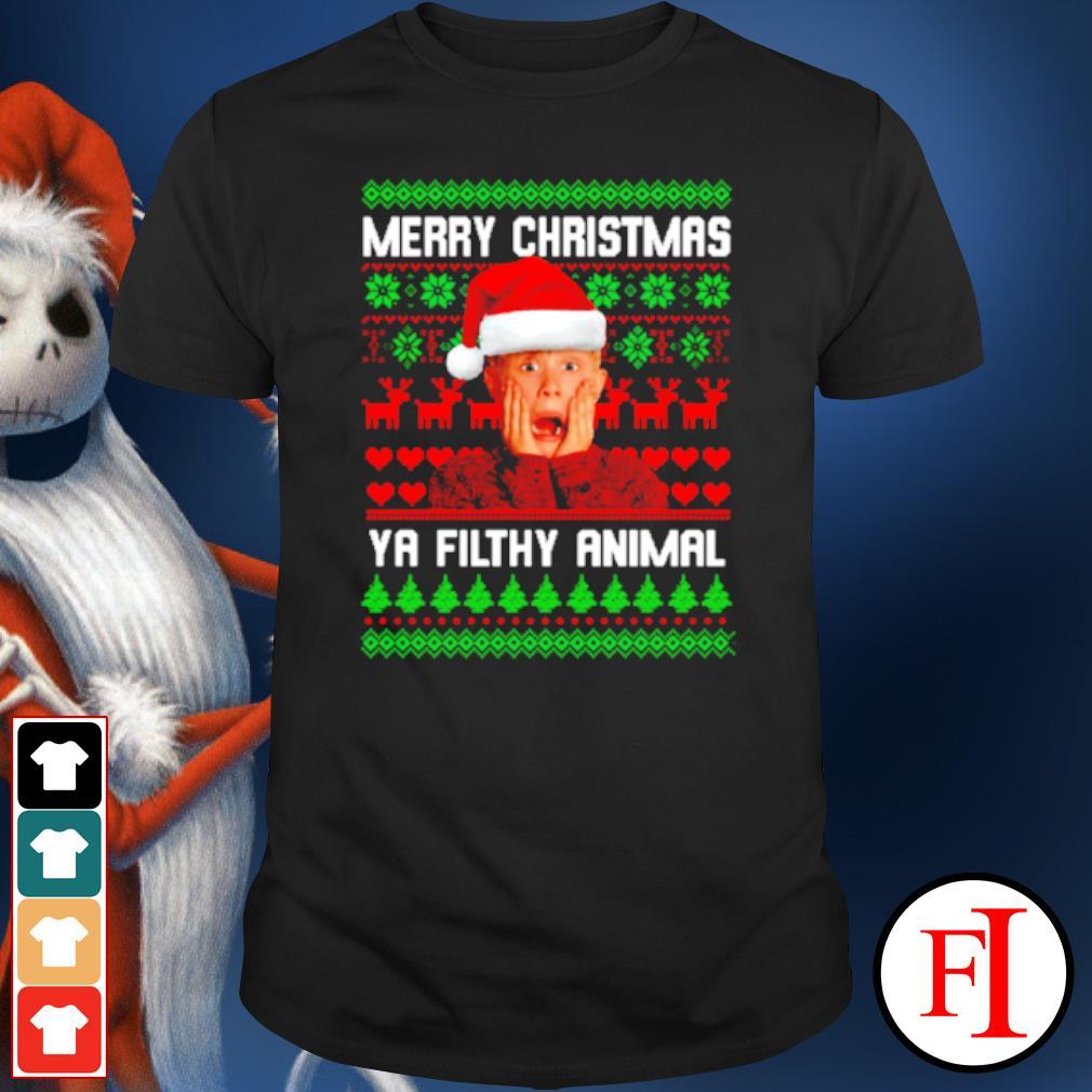 Kevin McCallister Merry Christmas ya filthy animal Christmas ugly shirt