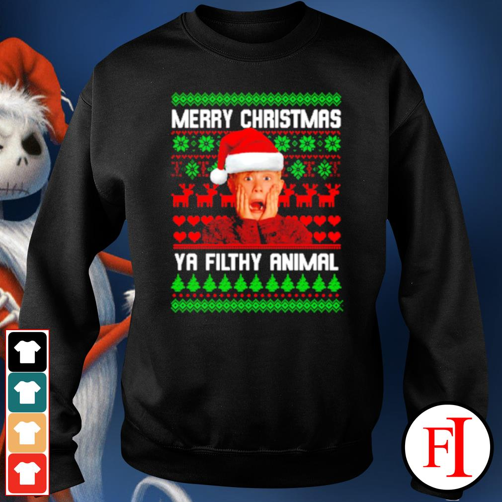 Kevin McCallister Merry Christmas ya filthy animal Christmas ugly s sweater