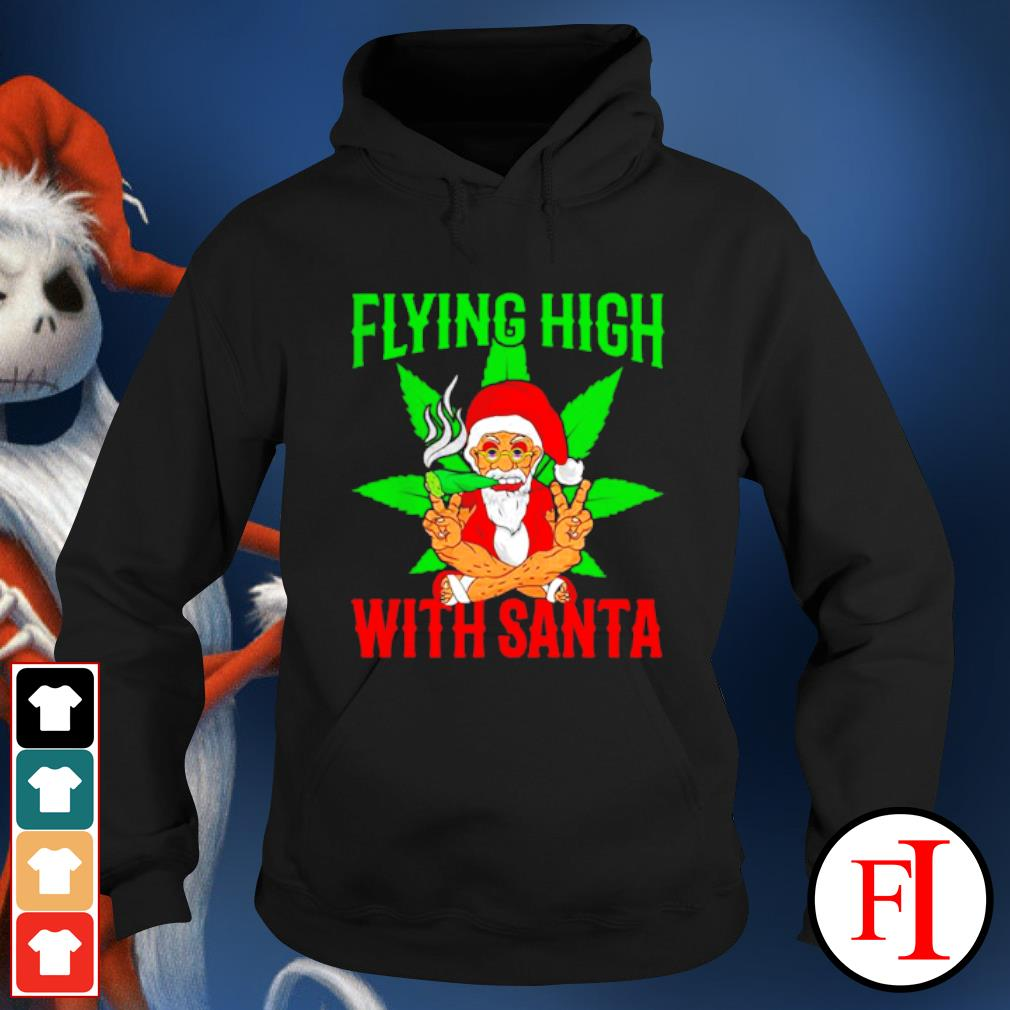Santa Marijuana Christmas design s hoodie