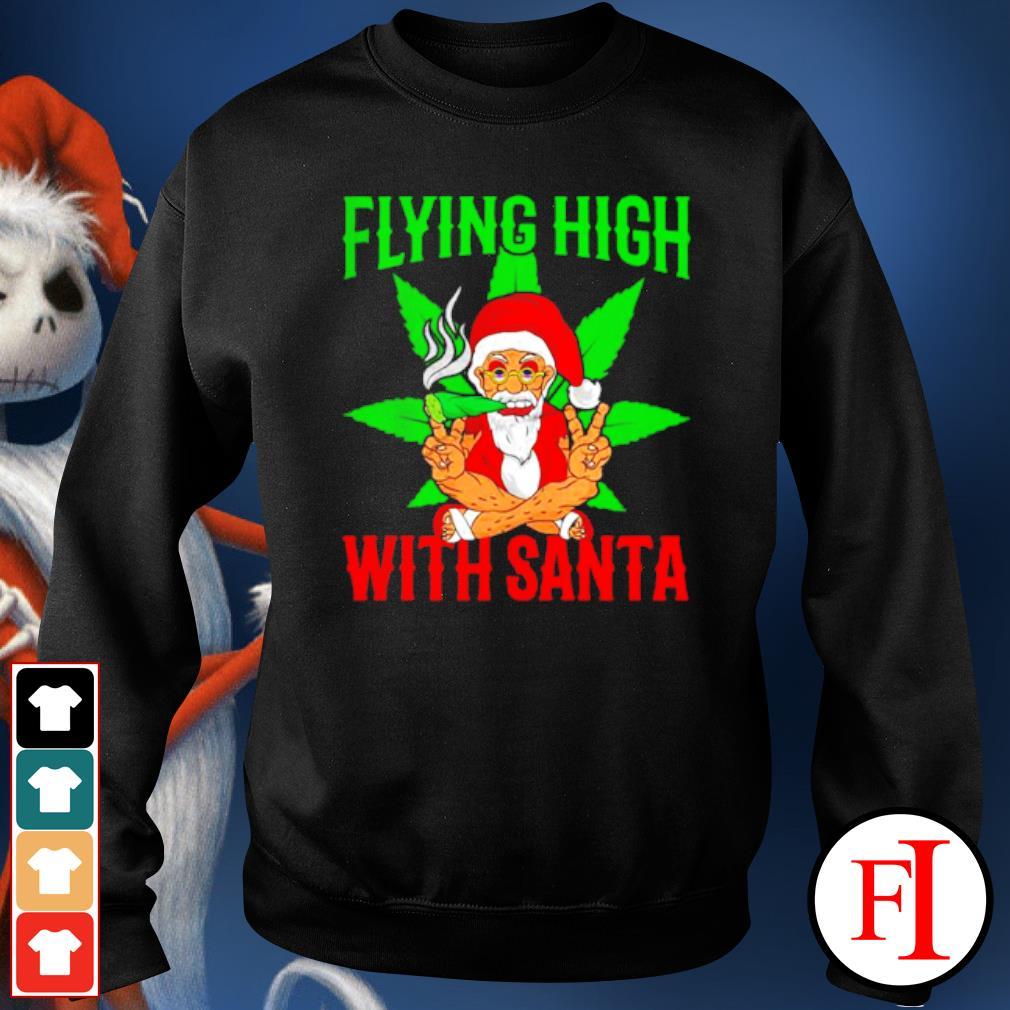 Santa Marijuana Christmas design s sweater